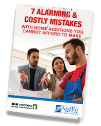 costly mistakes home additions - apollo patios vic