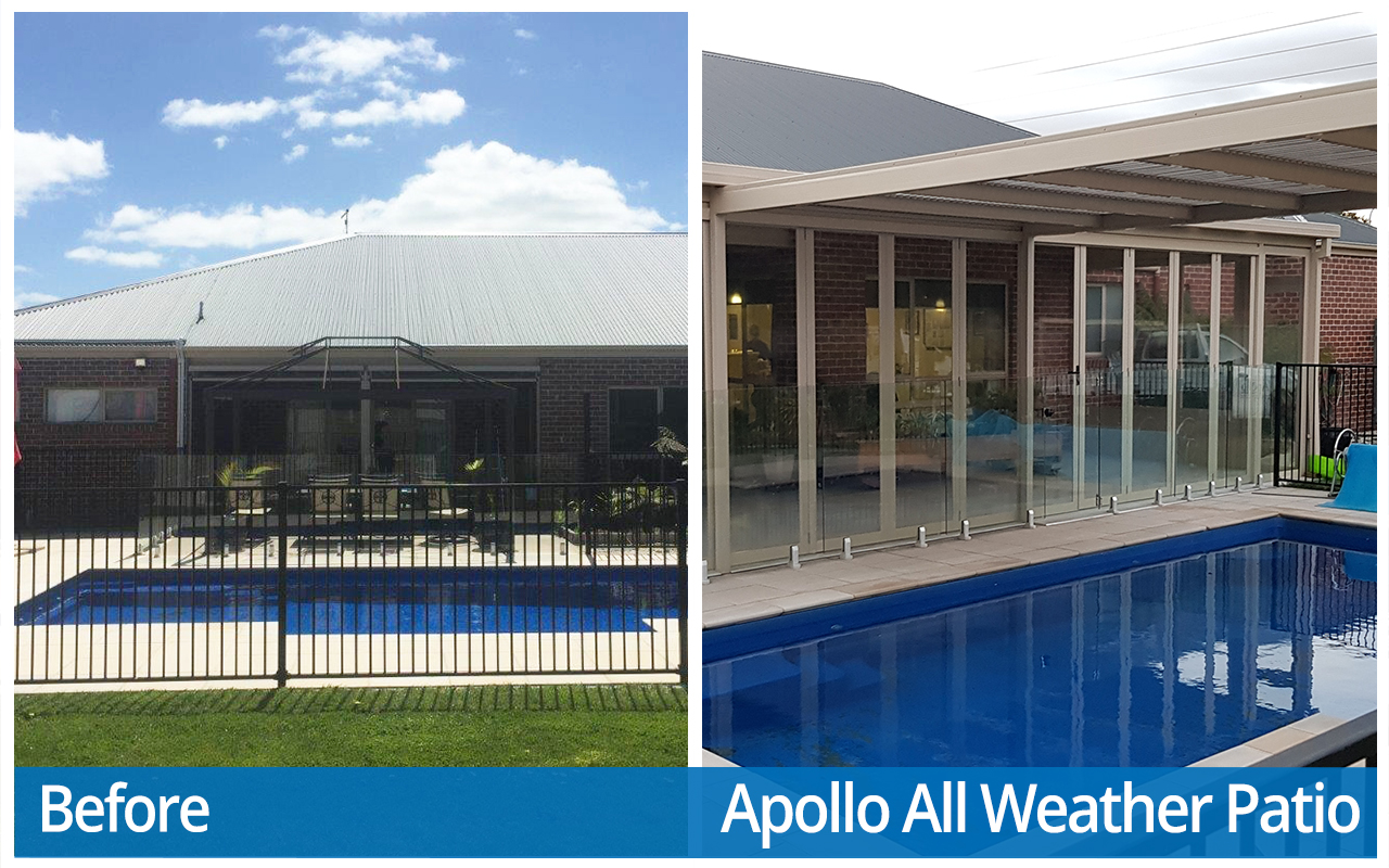Halson Before And After Apollo All Weather Patio