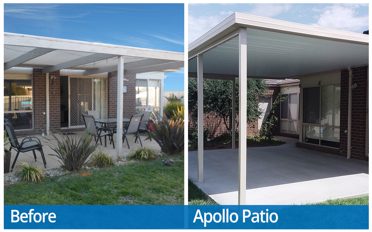 Hogan Before and After Apollo Patios