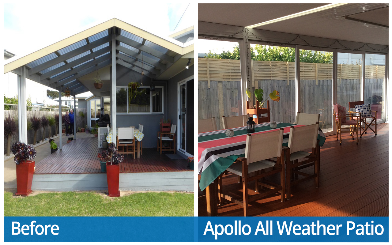 Smith Before and After Apollo All Weather Patio
