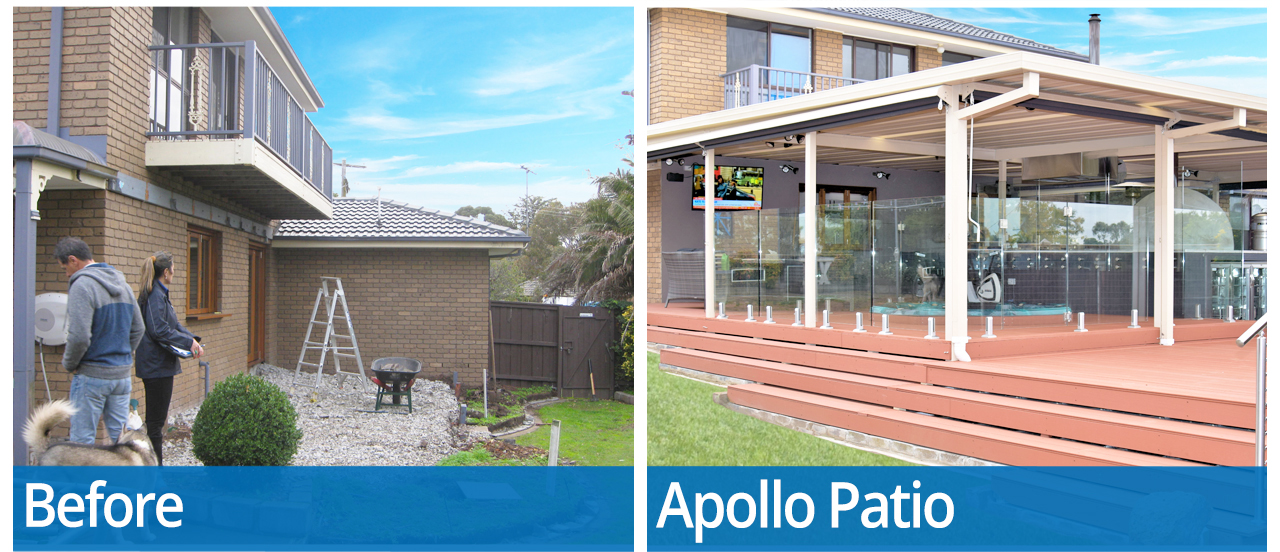 Apollo Patios Vic Transformation Image