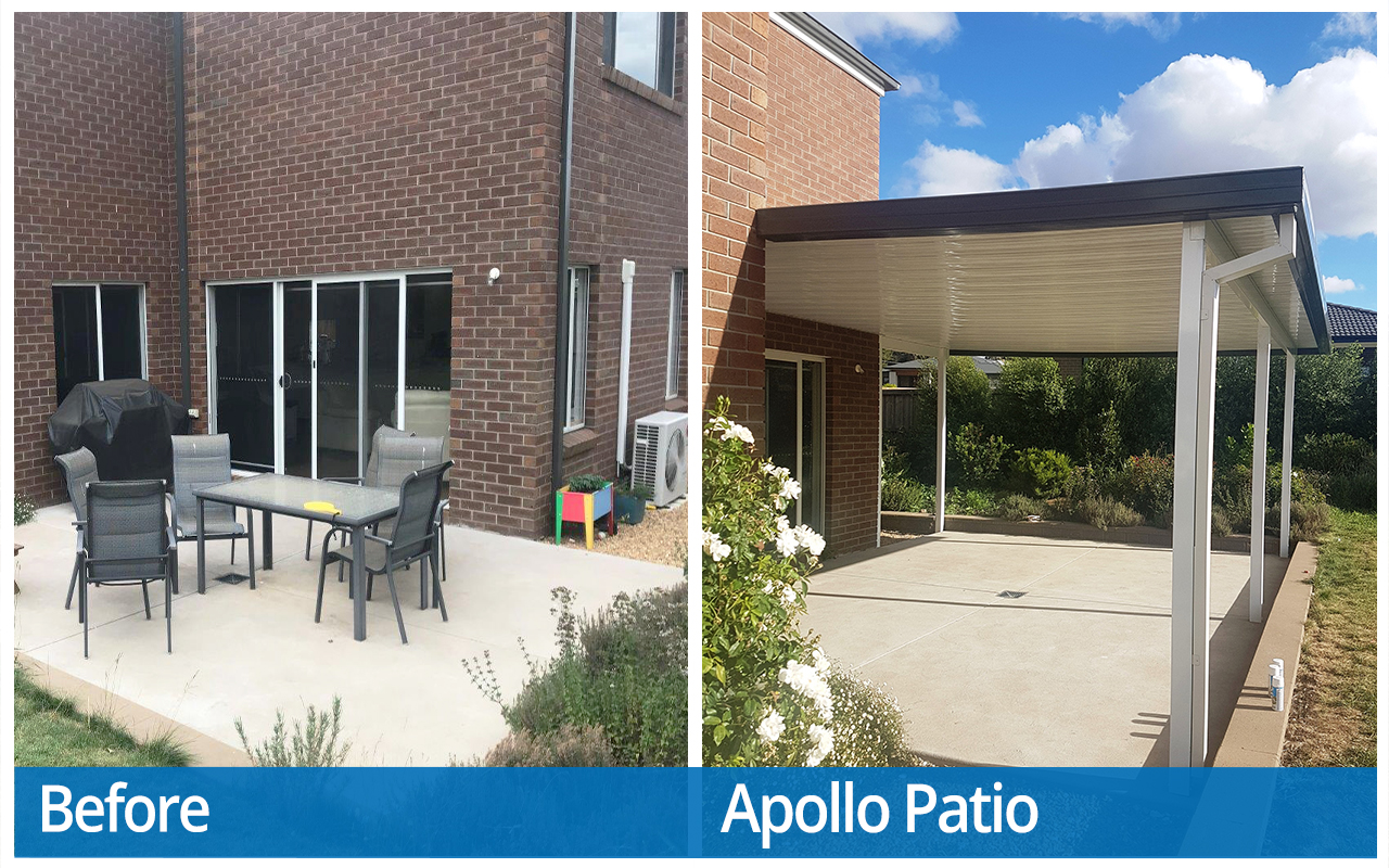 Wilanowska Before and After Apollo Patios