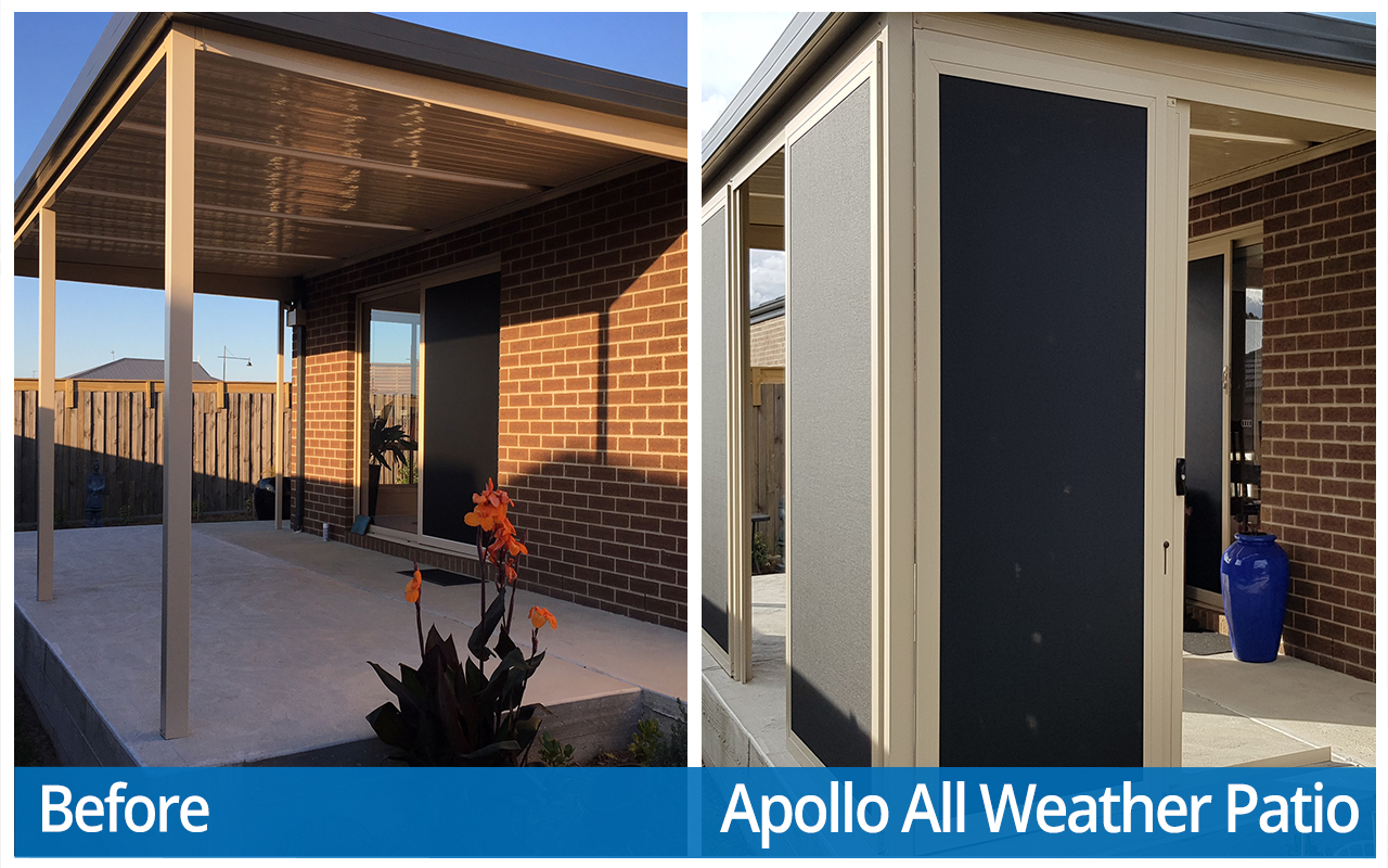Williams Before and After Apollo All Weather Patio