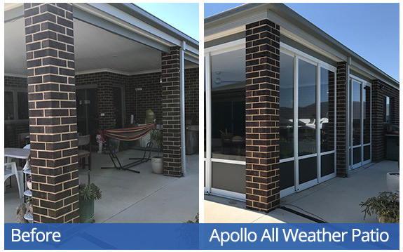 Apollo All Weather Patio System - Blaza-T&J