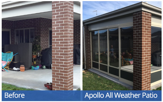 Apollo All Weather Patio System - Hallett-T