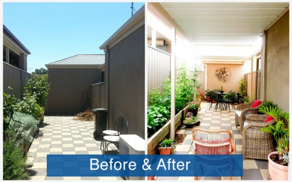 Apollo Patios Before & After - Ashby