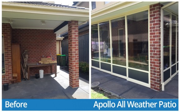 Qiang S&W - Before & Apollo All Weather Patio
