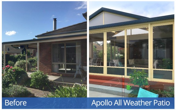 Apollo Patios Before & After - Baltetsch